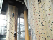 Secondary SRC: Team Building Indoor Climbing