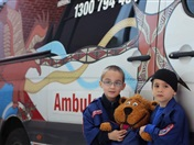Ambulance Victoria Visits the Foundation Students