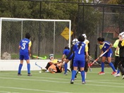 Senior Girls Hockey Match against St. Monica's