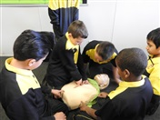 First Aid Training for Primary Students