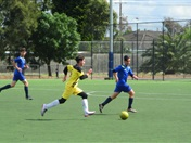 Friendly Soccer Match Against St. Monica's College