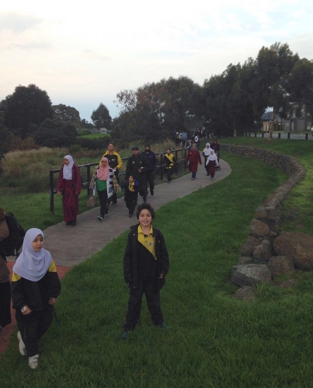 National School Walk Out: National Walk To School Day 2017