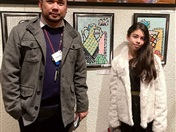 Students Art Works on Exhibition