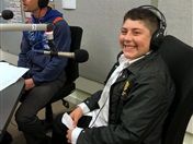 Students Interviewed on Live Radio