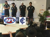 AFL Carlton Players Visit