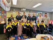 Carlton FC Players' Visit