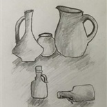 Still Life by Yusuf Elbaba, Year 7B2