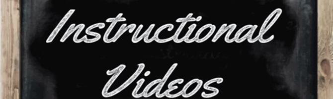 Instructional Videos (SECONDARY)