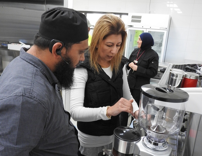 Barista Training for Canteen Staff