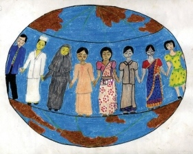 Interfaith ambassadors for 2017 announced news from al for Golden rule painting
