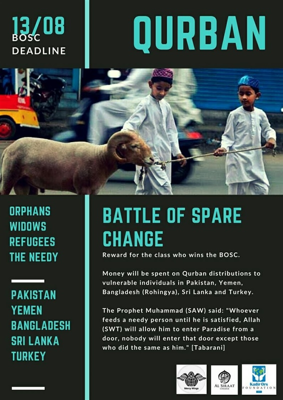 Qurban Project: Battle of the Spare Change