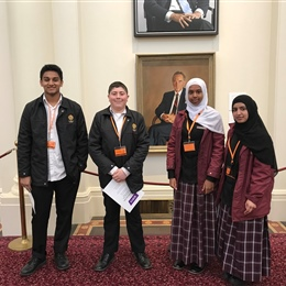 Senior Students at Parliament House