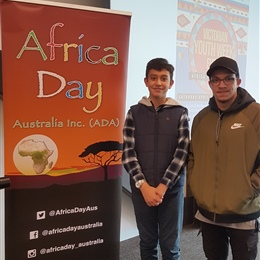 Students Attending Africa Day Event