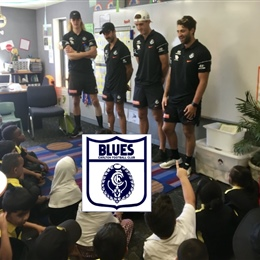 AFL Players Visit