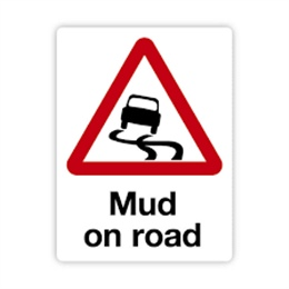 Mud on Road and Illegal Parking