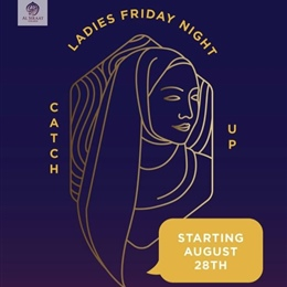 TONIGHT @7.30pm: Ladies Friday Night Catch Up
