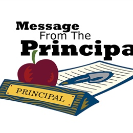 Principal's Welcome Message
