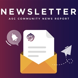 ASC Community News Report (Episode 1 of 2021)