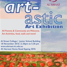 Stalls for Art Exhibition