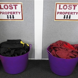 Lost Property: Baskets are Overflowing
