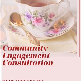 Ladies Morning Tea: Community Engagement Consultation