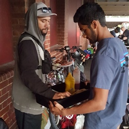 Year 12 Boys Feed the Homeless