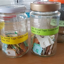 SRC Bread Tag Recycling Project