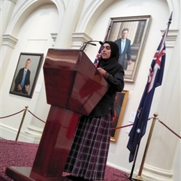 ASC Student Presentations At Parliament House