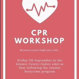 CPR First Aid Workshop for Ladies