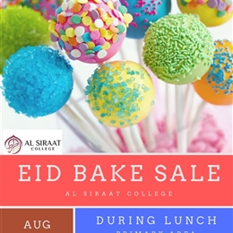 Eid Bake Sale