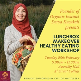 Parent Workshop: Lunchbox Makeover & Healthy Eating