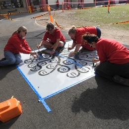 Bunnings School Grounds Painting Project