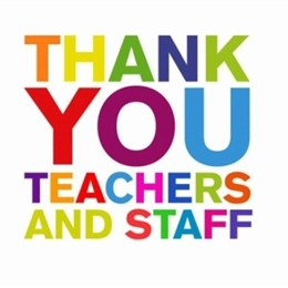 SRCs Thank You Message for Teachers