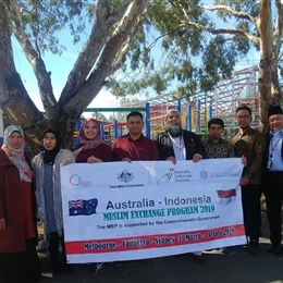 Indonesian Delegates from AIMEP Visit