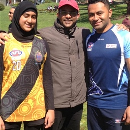 Sadiqah Fatimah Selected for AFL