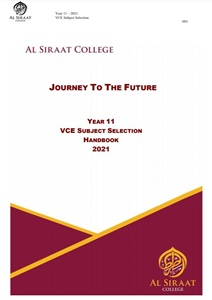 2021 Year 11 Subjects Handbook